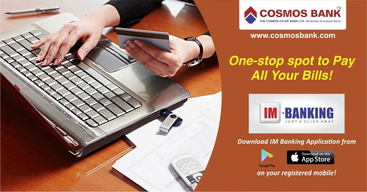 One stop for all your bills. Now download IM Banking app