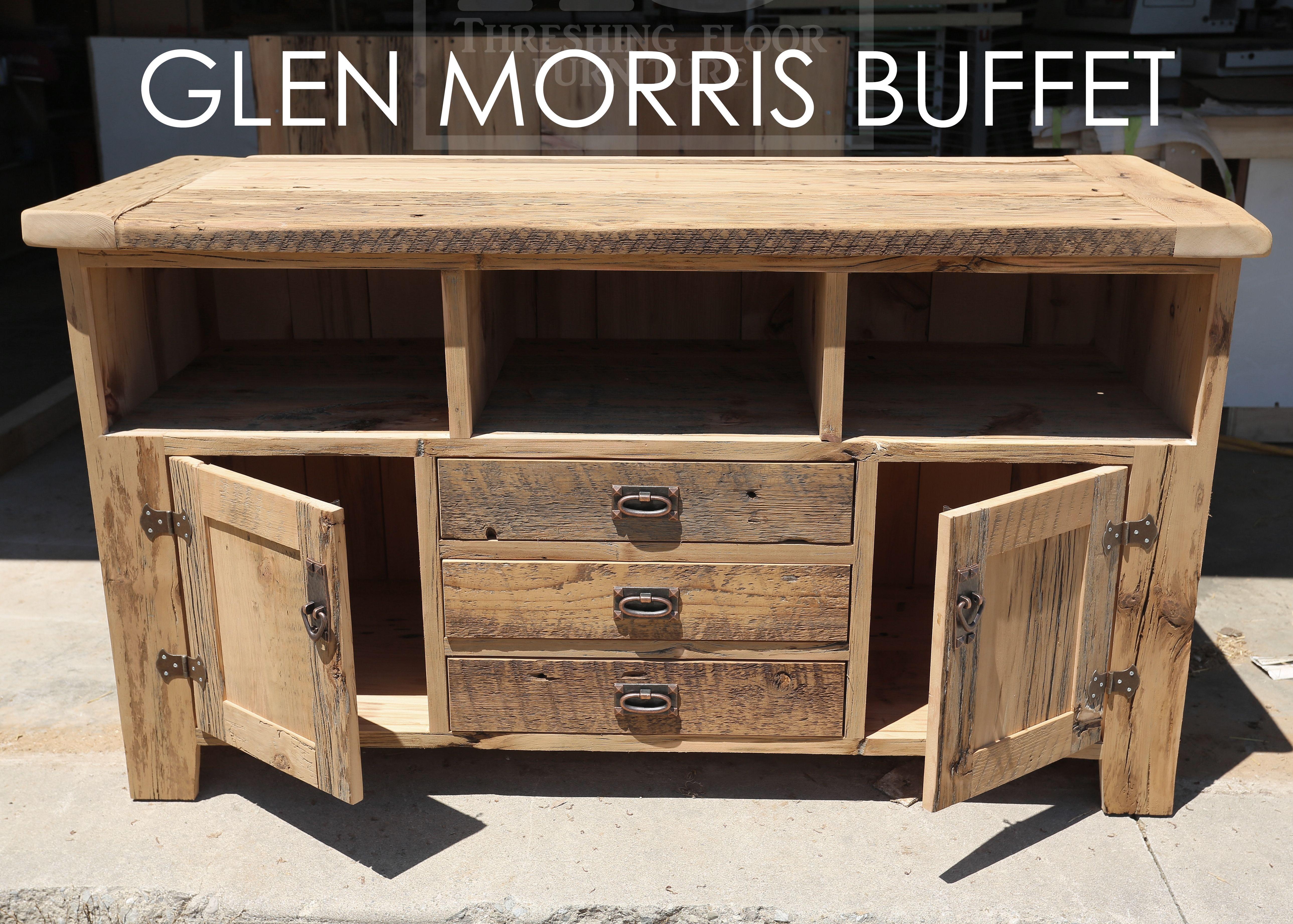 Reclaimed Barnwood Buffet By Hd Threshing Floor Furniture Of