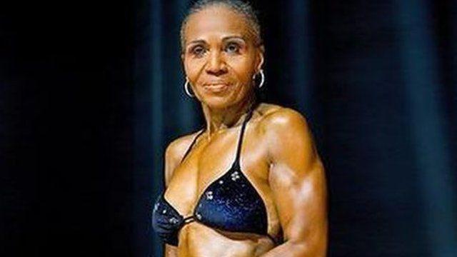 Ernestine Shepherd: The 75-year-old bodybuilding grandma.