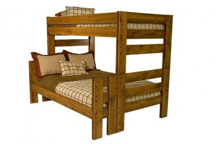 400 Mor Young Pioneer Twin Full Bunk Bed Twin Full Bunk