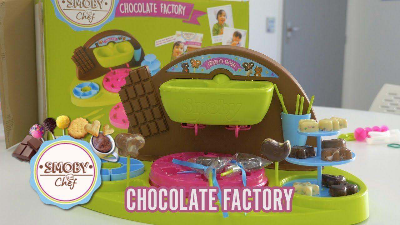 Chocolate Factory De Smoby Chef Demo En Francais Jeux Creatif