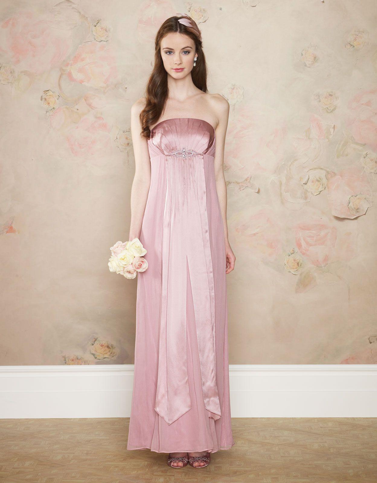 Diana maxi bridesmaid dress from monsoon httpuknsoon dusky pink bridesmaid dress from the high street diana maxi dress monsoon ombrellifo Choice Image