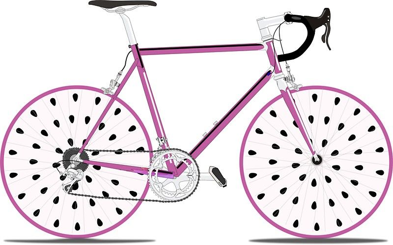 Pitaya Single Speed Sticker By Luckyu Design Pitaya Funky