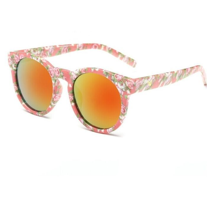 amazones gadgets V Children Pattern Retro Sunglasses (Lens Colour: Floral Frame Red Mercury Sheet: Bid: 11,00€ Buynow Price 11,00€…