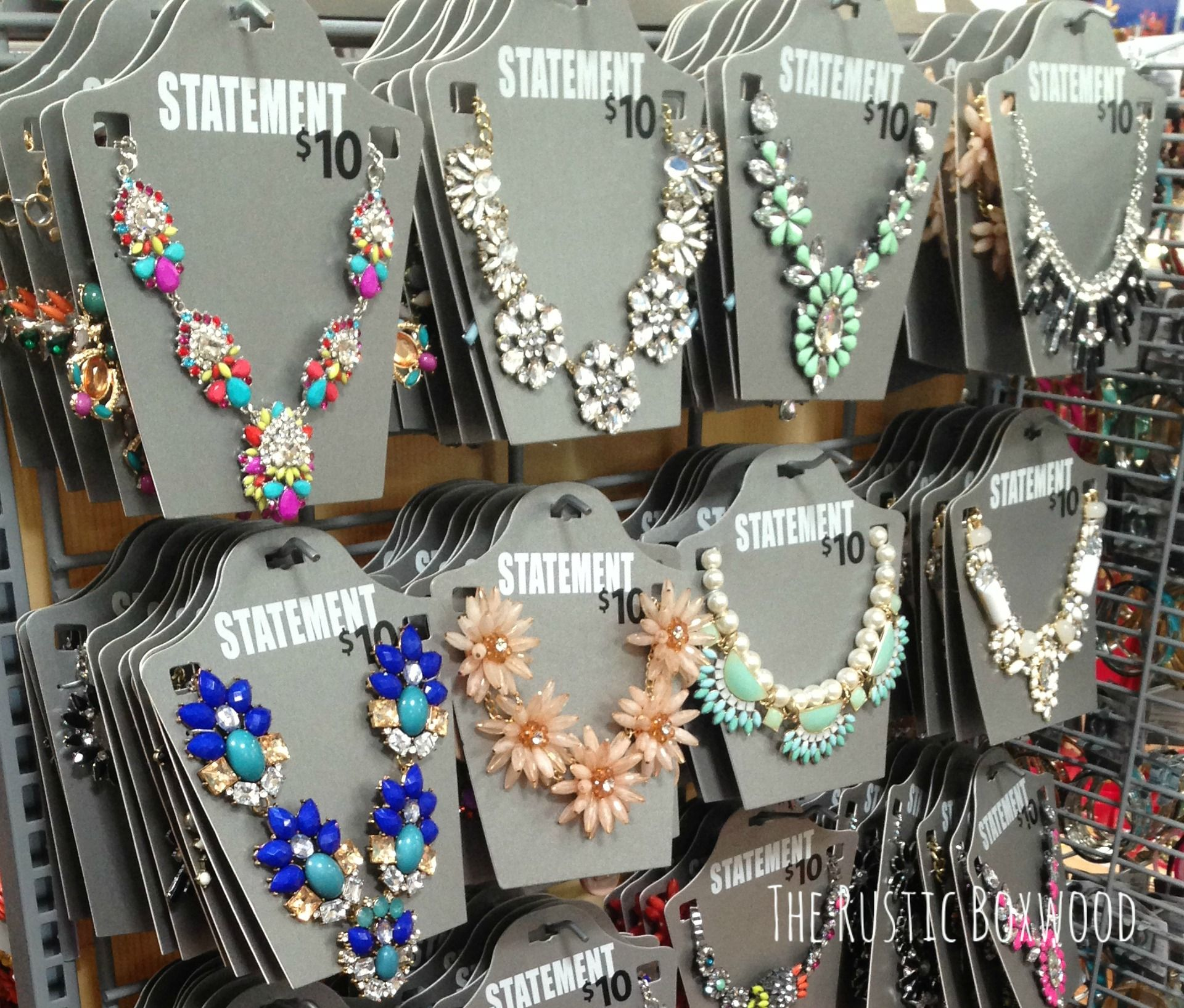 522b3f2a276f3 Beautiful statement necklaces....from Walmart! All about it at ...