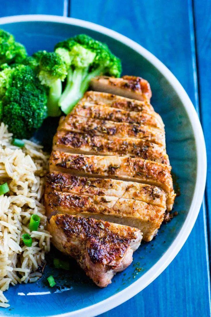Traeger Blackened Pork Chops   Recipe   Outdoor cooking ...