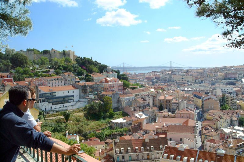 Miradouro De São Pedro De Alcântara Europe Vacation Lisbon Walking Tour