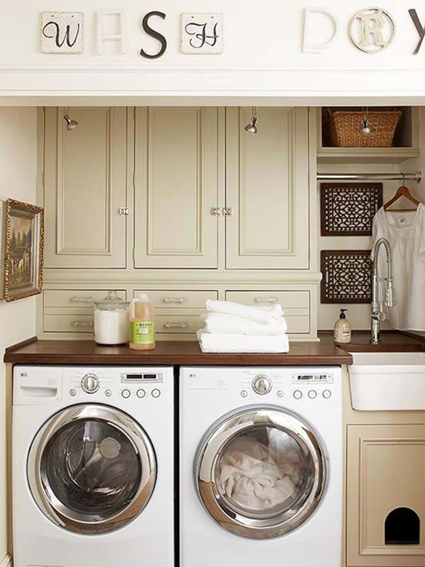 60 amazingly inspiring small laundry room design ideas for Lavaderos chiquitos