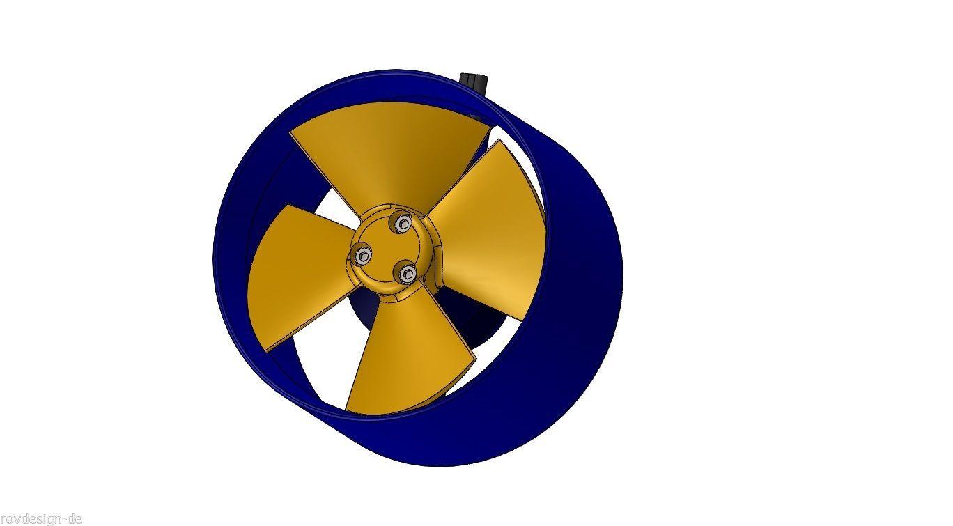 Unterwasserantrieb Thruster für ROV Systeme, Schiffsantriebe