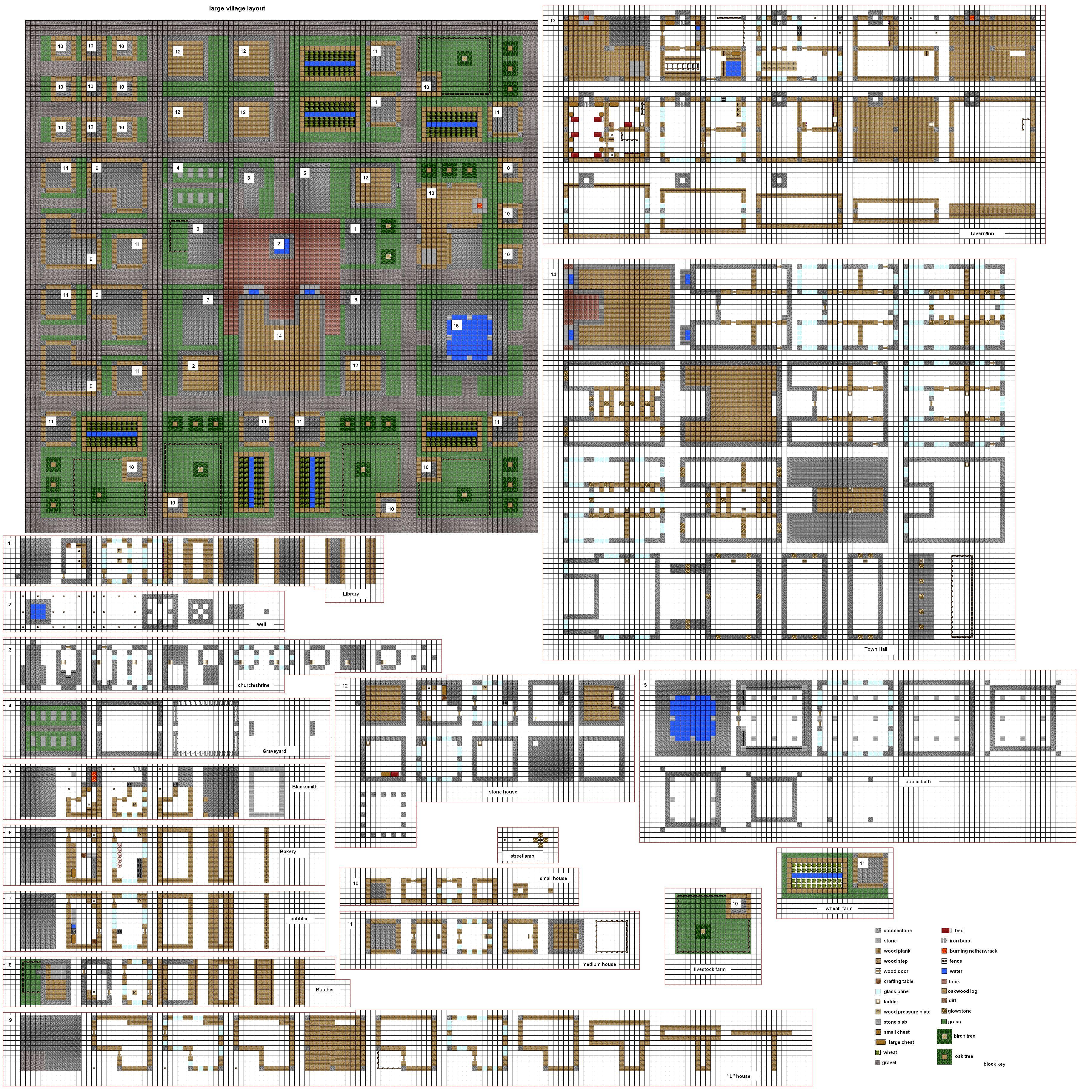 old village plans by coltcoyote deviantart com on