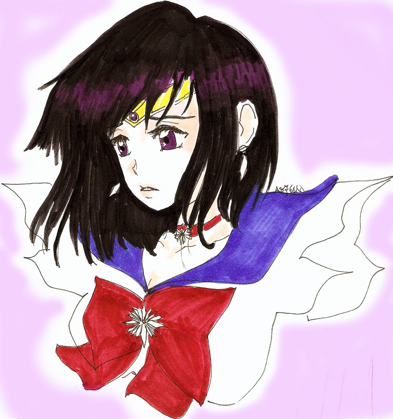 sailor saturn - il mondo di shioren