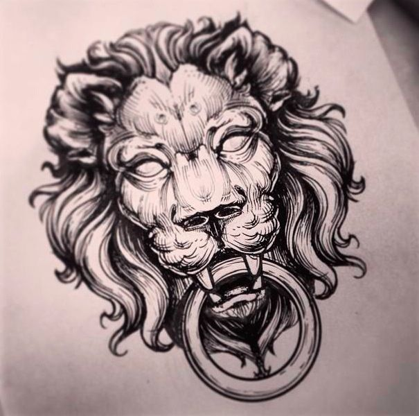46a6cb862 17 Best ideas about Lion Tattoo Design on Pinterest | Lion ...