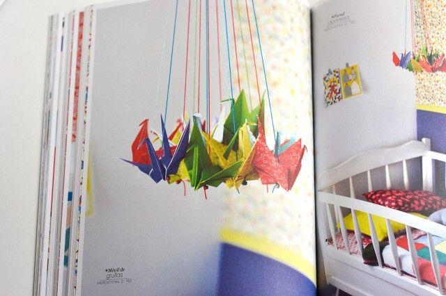 palomitas con papel de colores