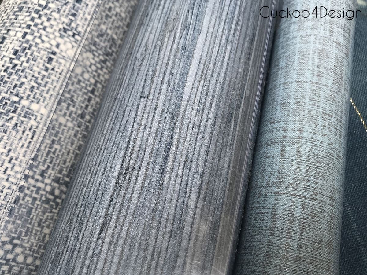peel and stick grasscloth wallpaper furniture makeover