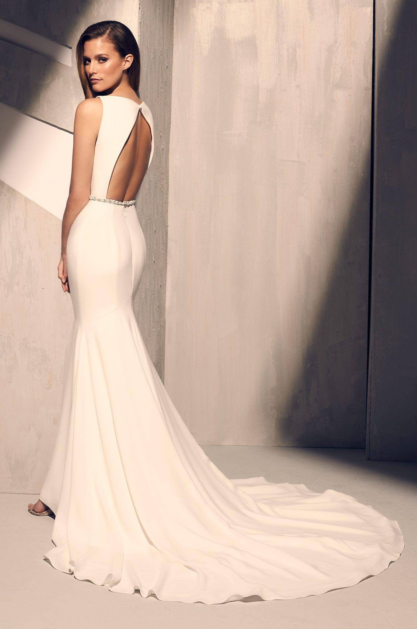 Elegant Flared Wedding Dress Style 2200 Wedding Dresses Boat