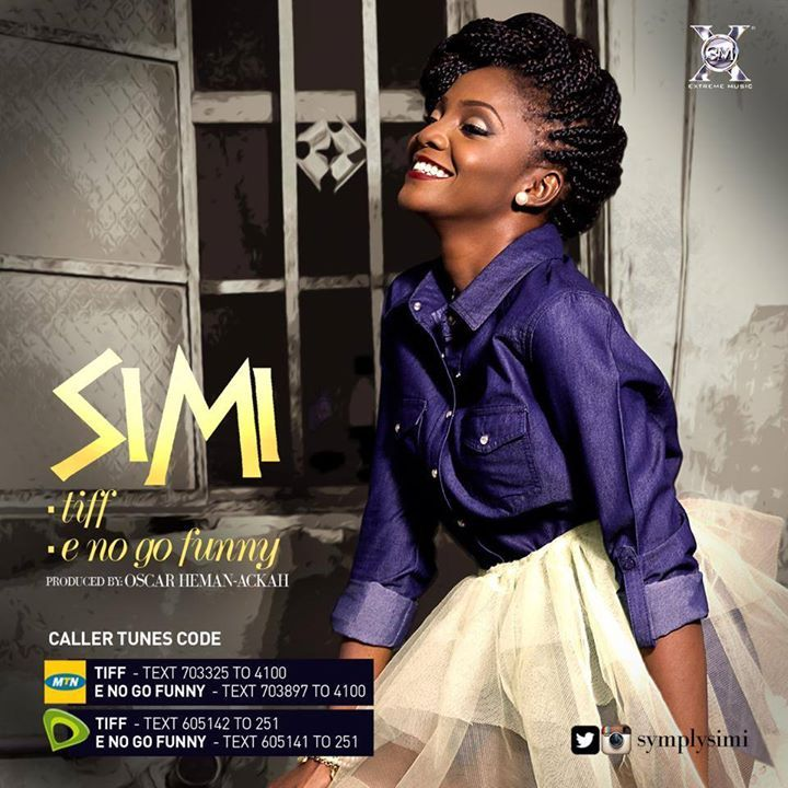 Simi finally released her first official singles since she signed up with X3 Music , Tiff and E no Go Funny . Simi went all the way with this songs , such awesomeness in one persons voice .Things like this make me so happy