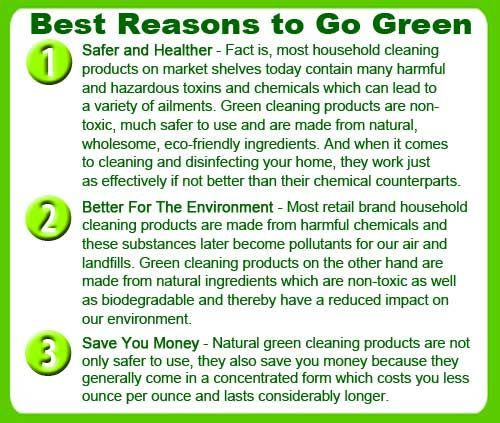 Go Green Go Green Green Cleaning Green