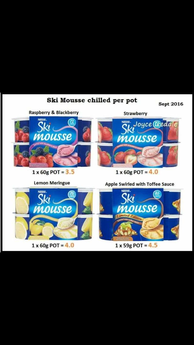 Ski Mousse Syns Slimming World Recipes Syn Free Toffee