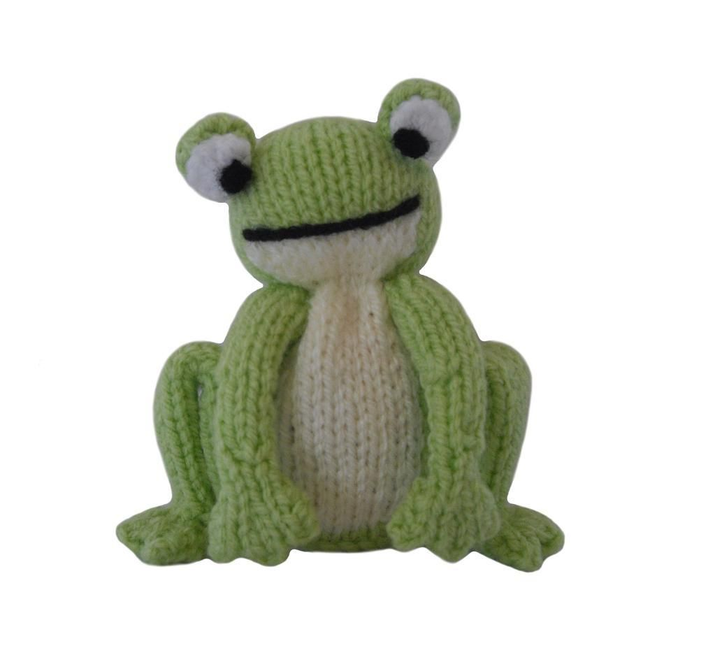Small Knit Toy Frog | CROCHET 2 | Pinterest | Frogs, Toy and Knit ...