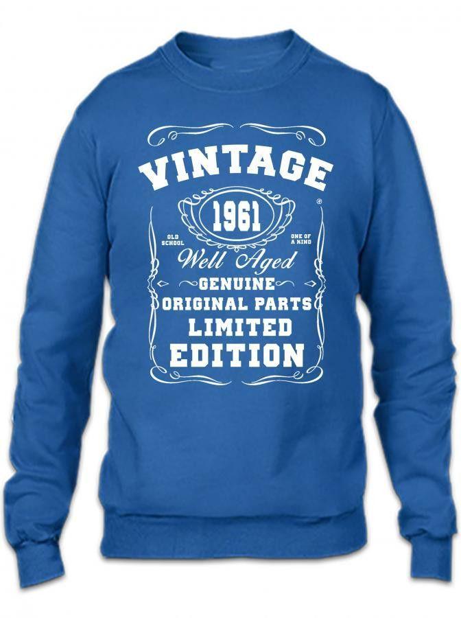 well aged original parts limited edition 1961 Crewneck Sweatshirt