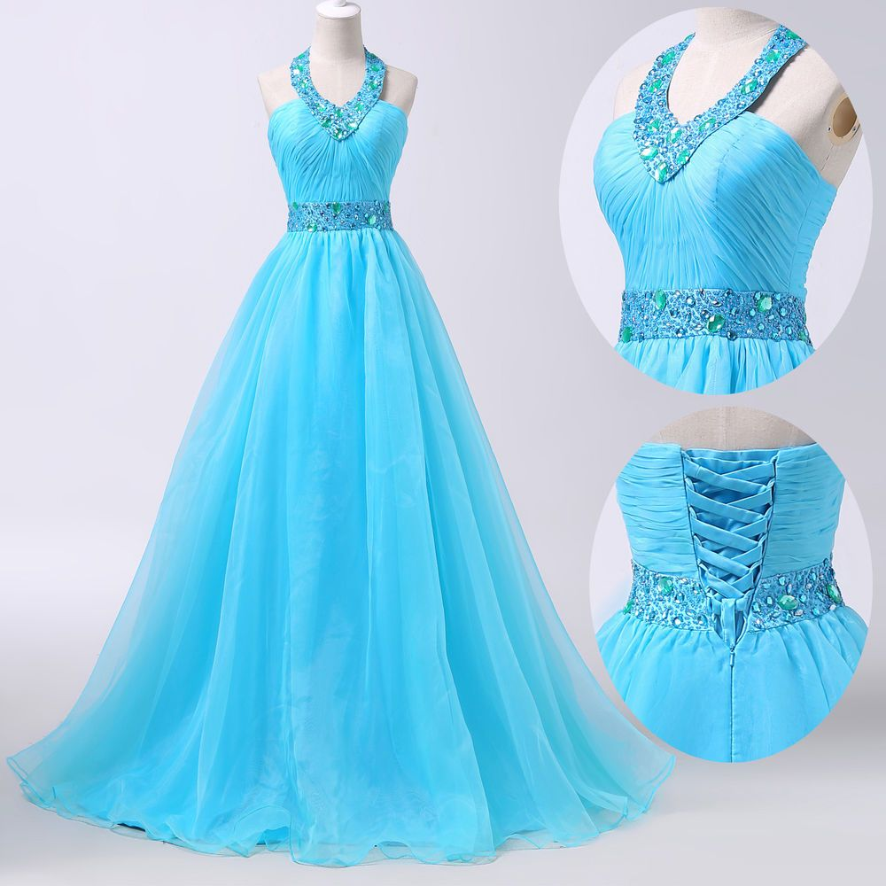 GK Masquerade Quinceanera Formal Prom Party Ball Gown Wedding Long ...