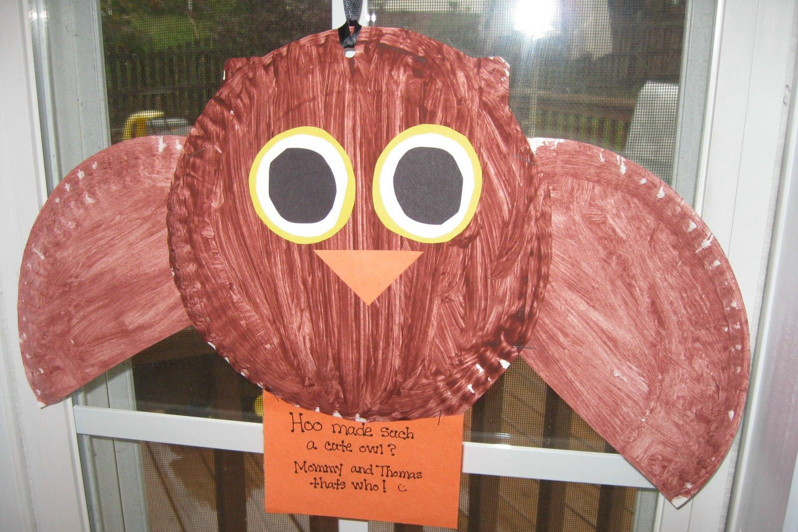 Play With Me Paper Plate Owl & Play With Me: Paper Plate Owl   October School   Pinterest   School