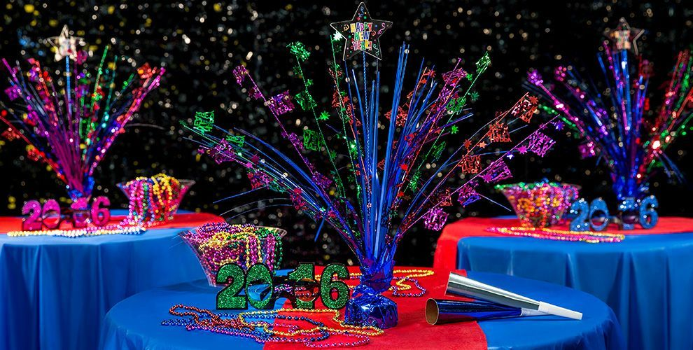 New Year\u0027s Eve Table Decorations , Party City