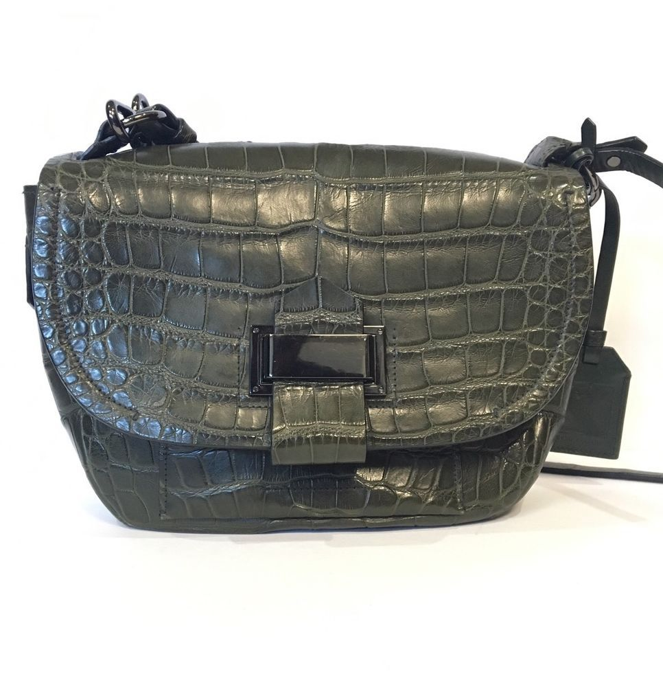 504126400ab Reed Krakoff Alligator Kit Bag Retail  9,990   bags   Pinterest ...