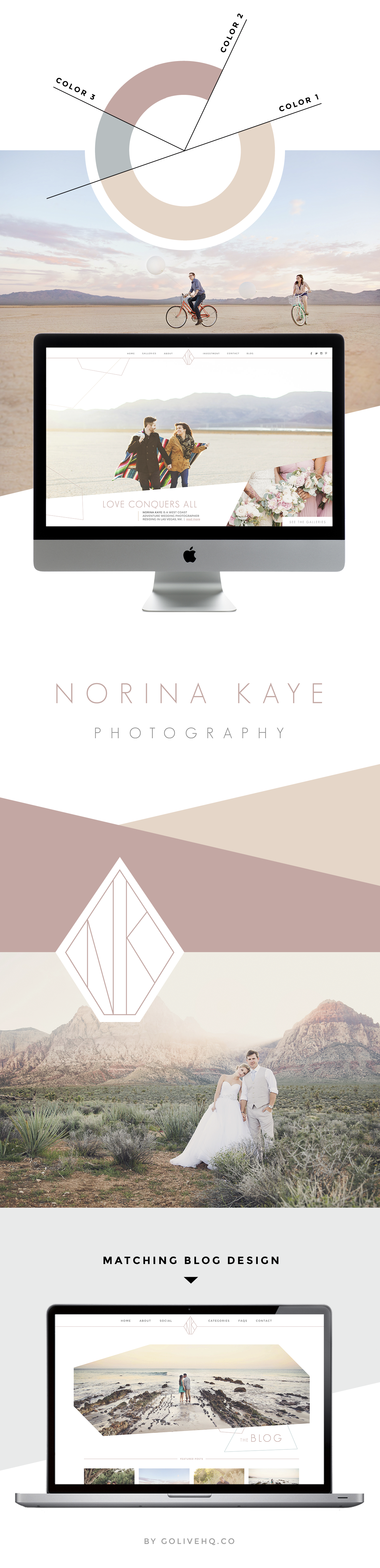 NORINA KAYE IS LIVE ON SHOWIT | Website Design By Go Live ...
