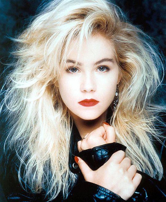 Christina Applegate | Movie Maker | 80s hair, 1980s hair