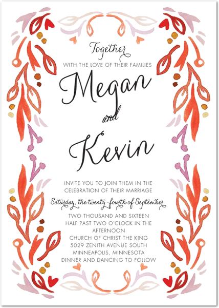 Wedding Invitations, Bridal Shower Invitations