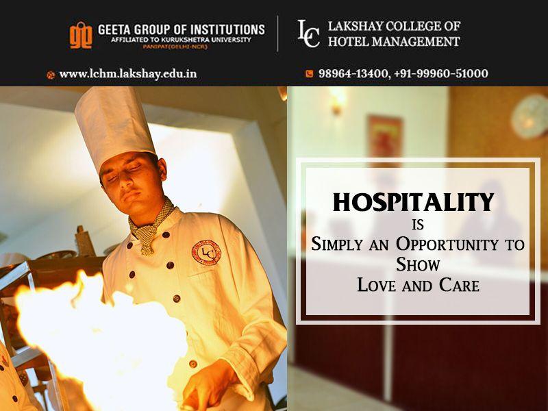 #MotivationalQuote #HospitalityQuote #LakshayCollegeofHotelManagement