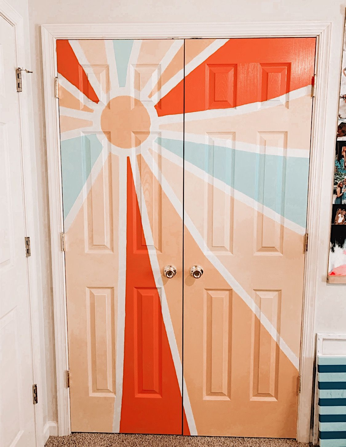 Alexdeannn Pureluxuriess Painted Bedroom Doors Closet Doors Painted Bedroom Art Painting