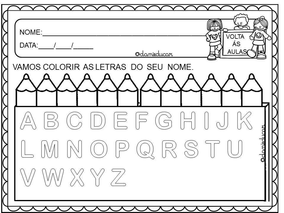 Atividades Volta As Aula Educacao Infantil Com Imagens