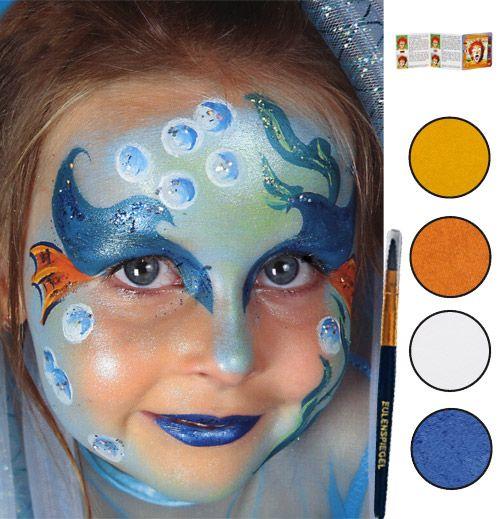 MAQUILLAGE ENFANT , Maquillage sirène