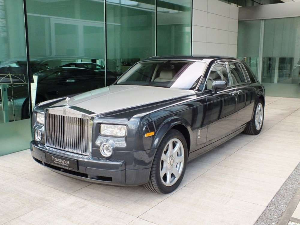 2008 Rolls Royce Phantom Limited Tungsten Edition Limousine Only 1