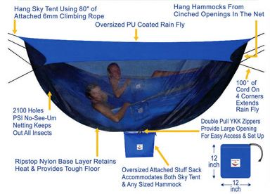 Hammock Bliss Sky Tent 2  sc 1 st  Pinterest & Hammock Bliss Sky Tent 2 | Camping fun | Pinterest | Tents ...