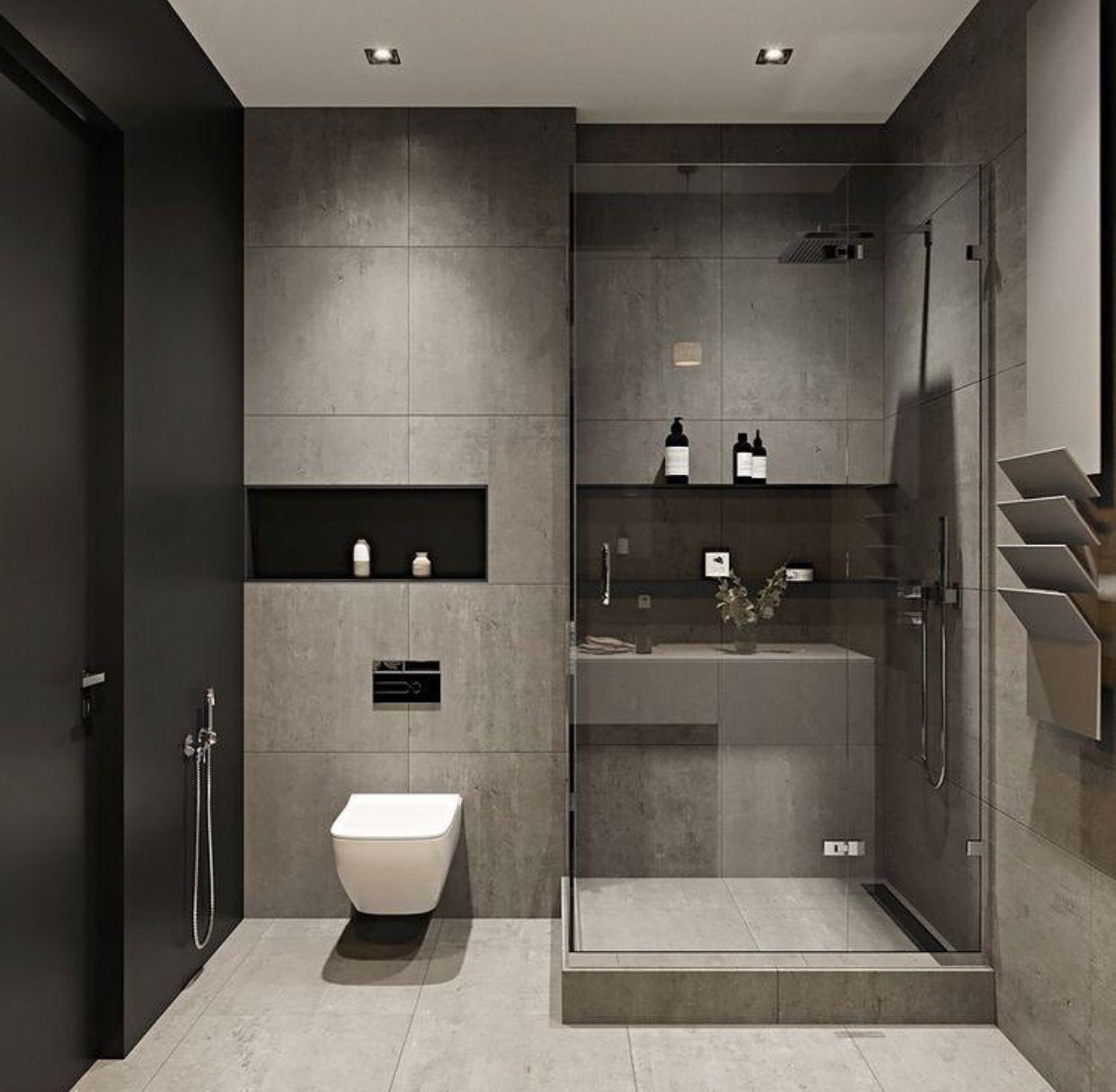 Modern Bathrooms Setting Ideas: Pin Uživatele Maha Ebrahim Na Nástěnce حمامات مودرن