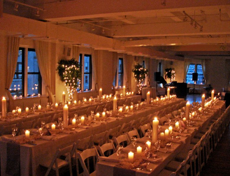 Wedding Setup At The Midtown Loft Venue In NYC