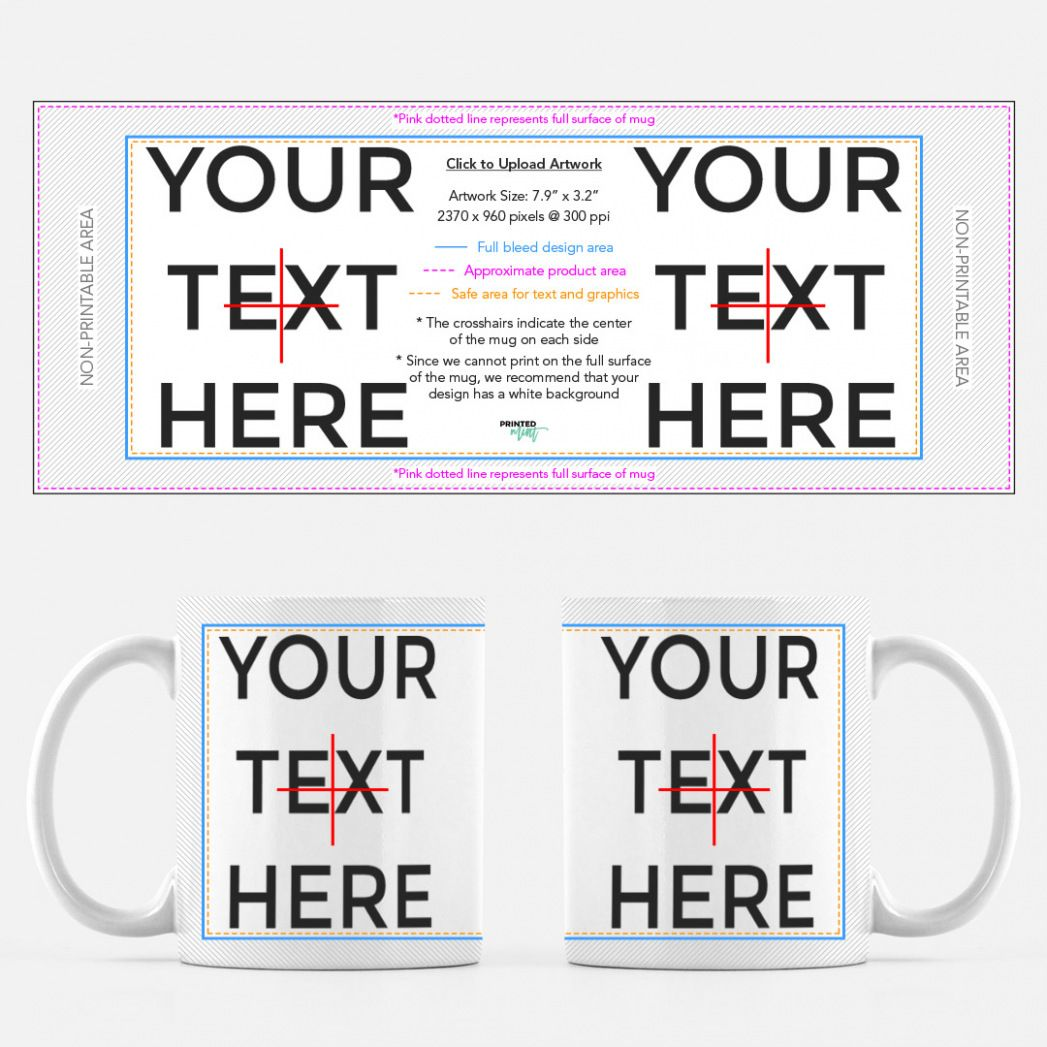 Download Mug 11oz Mug Design Template Sample Mug Template Mugs Design Template