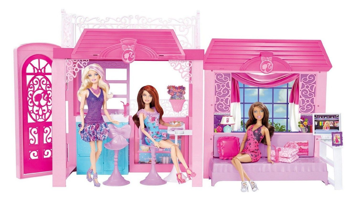 Pin By Haris Wkwk On Home Design Toy House Barbie House
