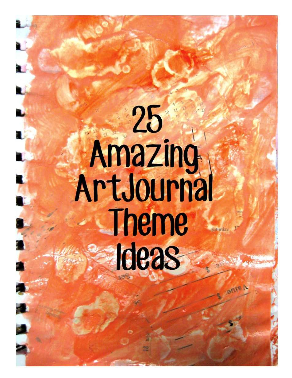 Inspiration Art Journal Pages