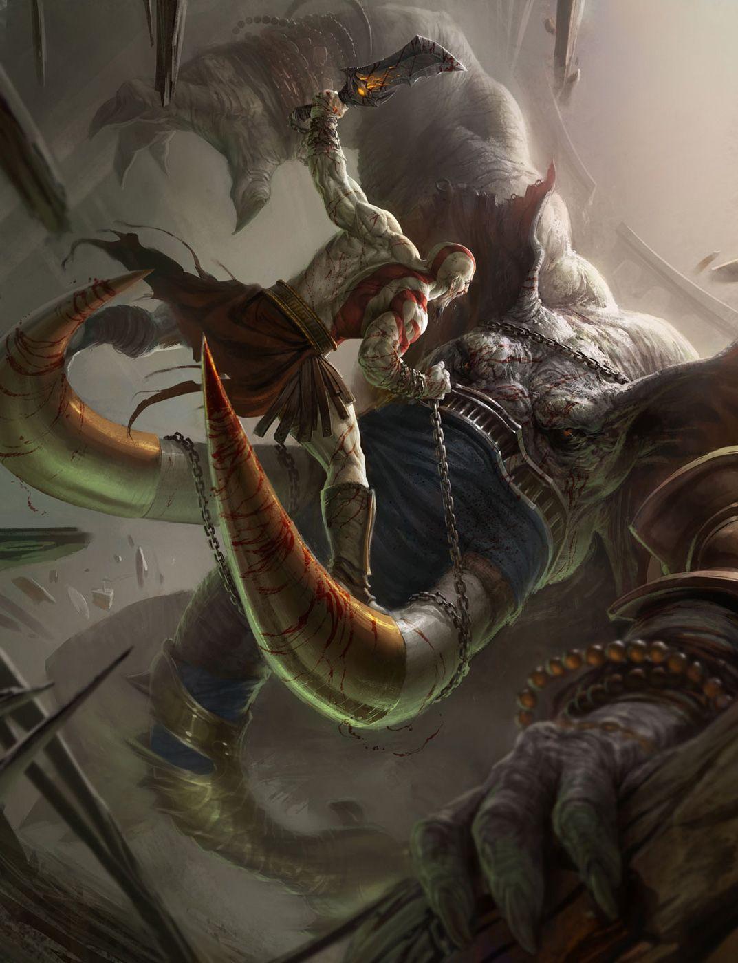 God Of War Ascension Concept Art God Of War Kratos God