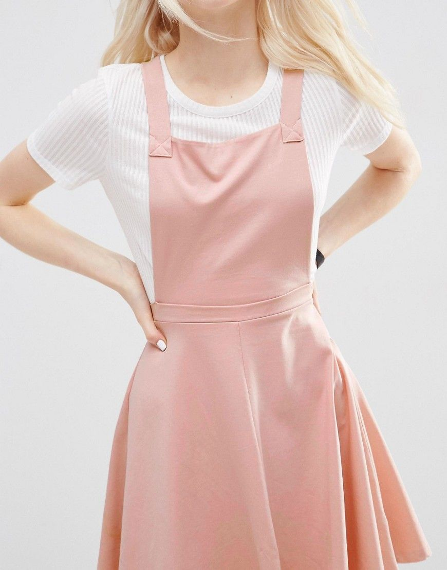 4e006d87f1 Image 3 of ASOS Pinafore Dress