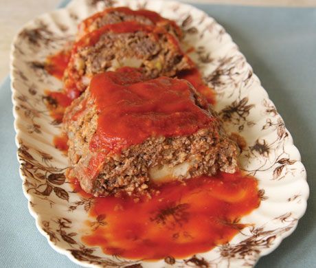 Stuffed Meatloaf Photo Ground Beef Recipes Recipe Epicurious Com Beef Recipes Ground Beef Recipes Recipes