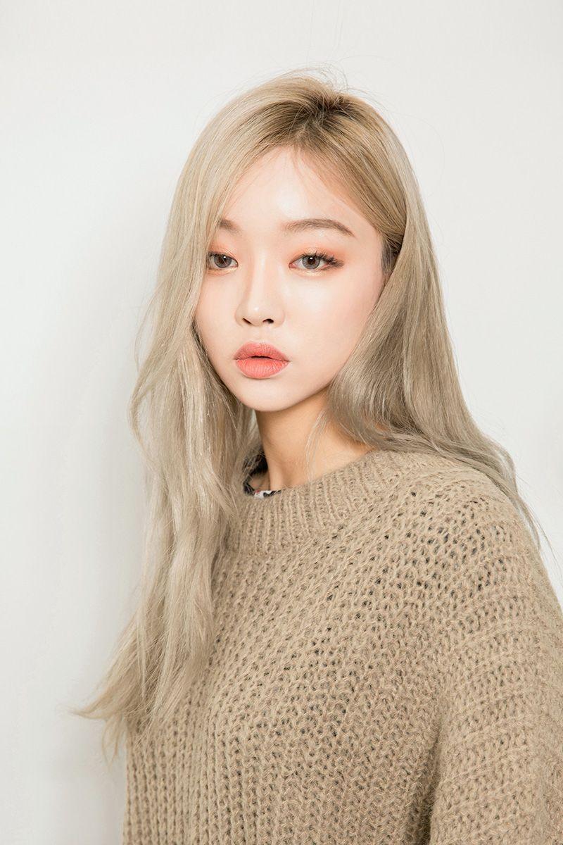 Ulzzang Tumblr Blonde Hair Korean Korean Hair Color