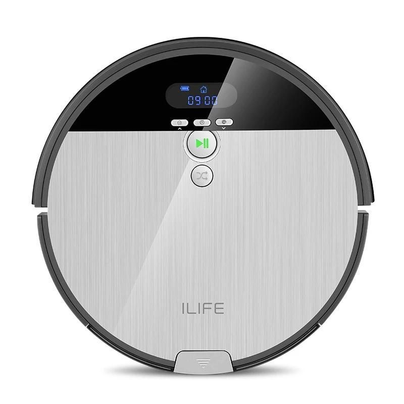 Photo of Silver Robot Vacuum Cleaner – V8s – Gray / US