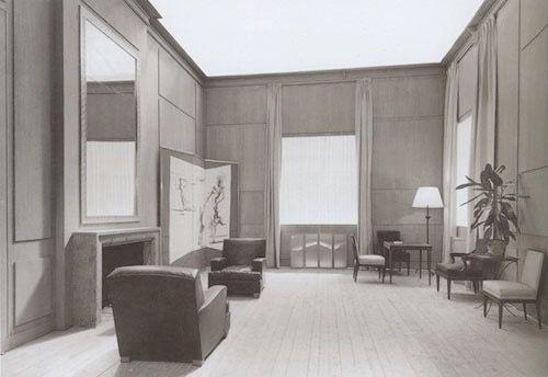 Jean Michel Frank Smoking Room Buenos Aires 1936 Jean