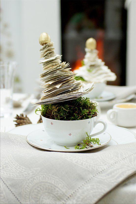 Tischlein deck dich ... weihnachtlich!  Tischlein deck dich ... weihnachtlich (Bildquelle: Living and Green) #sapinnoel2019