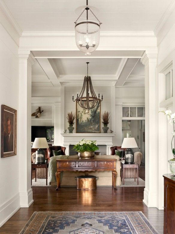 Interior Design Ideas Living Room Traditional Magnificent New Home Interior Design Southern & Traditional  Home Design Decoration